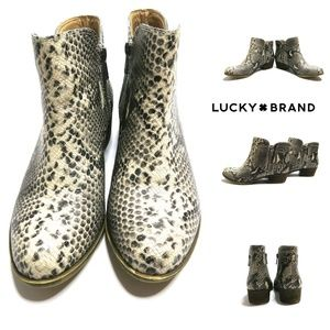 Lucky Brand BREAH Ankle Boots/Booties